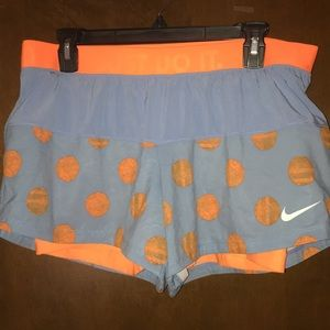 Nike 2 in 1 Workout Shorts. NWOT